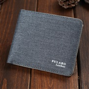canvas coin bag man short style Korean style super Thin zipper coin leather more Card purse