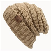 occidental style Autumn and Winter woolen knitting hedging Outdoor warm hat