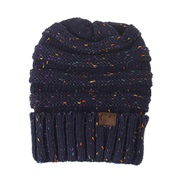new style Autumn and Winter knitting hat color color knitting woolen Outdoor warm hedging