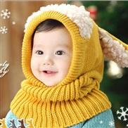 child hat Autumn and Winter style  Korea lovely samll dog shawl one-piece warm woolen