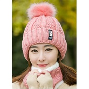 hat velvet woolen velvet Korean style lady Autumn and Winter knitting two