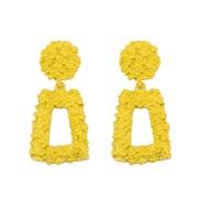samll Alloy geometry earring   trend earring