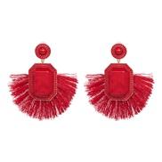 UR tassel earrings occidental style wind personality Alloy diamond earring
