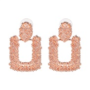 UR Alloy earrings occidental style fashion personality