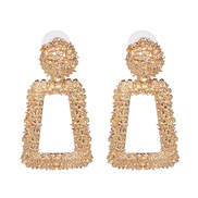 earrings occidental style wind personality earring high-end Alloy earrings