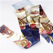 ( Navy)Chiffon belt  ...
