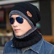 ( black)hat man woman Korean style velvet woolen Winter leisure knitting hedging