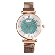 (Rose Gold Green Diam...