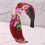 Korean style fashion Country style floral Cloth Headband Headband head buckle lady Headband