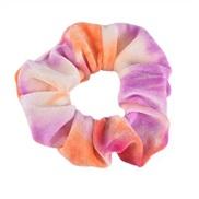 ( orange+purple)occidental style big circle circleins gradual change color velvet fashion rope head woman