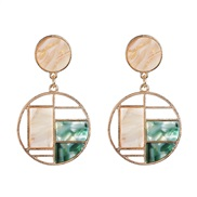 ( green)occidental style fashion earrings Opal earring retro wind