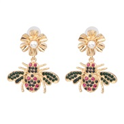 occidental style wind personality insect earrings lovely earring flowers Earring
