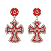 ( red) Word earrings ...
