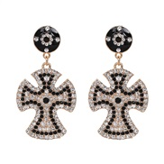 ( black) Word earring...