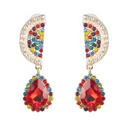 ( red)occidental style fashion fruits earrings drop earring woman arring