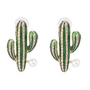 ( green)UR fashion earrings occidental style fashion ear stud Earring