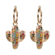 ( Color)all-Purpose ear stud woman earring  occidental style exaggerating personality temperament brief earrings