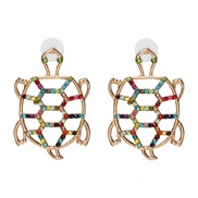 ( Color)UR personality diamond earrings earring