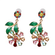 ( Color)UR summer small fresh earrings crafts flowers earring