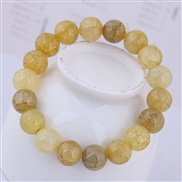Korean style fashion  concise sweet flower crystal glass fashion personality woman bracelet