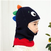 ( black )child hat autumn Winter Korean style fawn man warm knitting shawl lovely cartoon