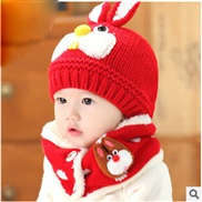 ( red) woolen  Korean...