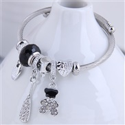 occidental style fashion  Metal all-PurposeDL concise flash diamond lovely more elements accessories personality b