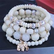 occidental style trend  Bohemia noble wind mash up Metal samll temperament multilayer bracelet