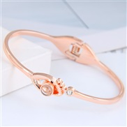 occidental style fashion  Metal concise eyes personality woman bangle