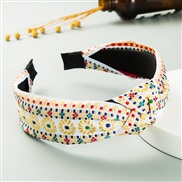 (color )occidental style ethnic style eadband woman weave eadband belt head belt same style