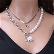 ( Silver Ellipse neck...