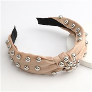 ( brown)occidental style large pieces Alloy half super eadband woman super style
