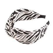 ( white)occidental style floral chain eadband width Stripe Irregular geometry print eadband