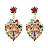( Color)occidental style exaggerating hollow ear stud fashion personality temperament earrings woman