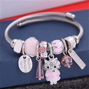 occidental style fashion  Metal all-PurposeD concise lovely cat more elements personality bangle
