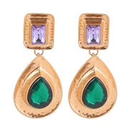 ( green)earrings crea...