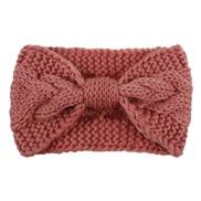 occidental style twisted knitting belt woman  woolen head belt head warm Autumn and Winter eadband