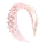 ( Pink)Korean style Pearl eadband surface temperament eadbandins lady head