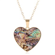 occidental style fashion trend concise Shells concise love necklace