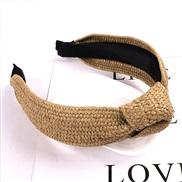 ( BeigeCM) spring summer eadband handmade weave eadband head same style