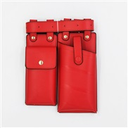( red) two bag woman ...