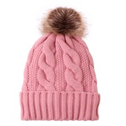 ( Pink)warm velvet thick lady knitting occidental style Autumn and Winter knitting warm