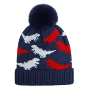 (  Navy blue red) kni...