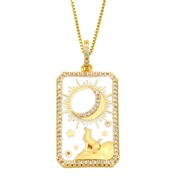 ( white) necklace wom...