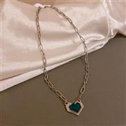 ( necklace green)ins ...