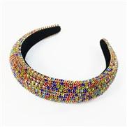 ( Color) Korea fully-jewelled eadband occidental style eadband Rhinestone Korean style fashion brilliant woman