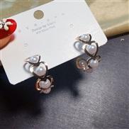( Gold)s silver earri...