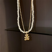 ( necklace Gold Two p...