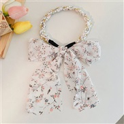 (  white)Pearl floral...