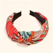 ( red) Headband all-Purpose Korea brief retro sequin width